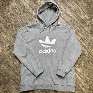 Adidas Trefoil Hoodie Sweatshirt With Pockets XL